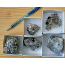 Sapphirine xx, Madagascar, 1 lot of 5 minature specimen