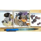 mixed rough stones, Madagascar, 125g