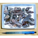 Quartz, clear with actinolite inclusions, Madagascar, 250 g