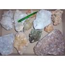 Zeolites, 1st choice, mixed, India, 1 kg