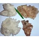 Mountain Quartz, Himalaya-Quartz, crystals on matrix, Himalaya, India, 100 kg