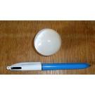 Selenite ball, 4 cm, white, 20 pieces