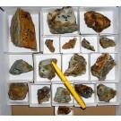 Scorzalite xx, Machacamarca, Bolivia, 1 lot of 17 specimen