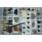 Mixed minerals from Germany, 1 lot of 51 pieces.