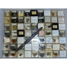 Mixed minerals from Saxony, Germany, 1 lot of 63 pieces.