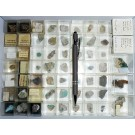 Mixed minerals from Germany, 1 lot of 47 pieces.