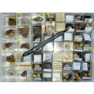 Mixed minerals from Haus Würthemberg Mine, Black Forest, Germany, 1 lot of 52 pieces.