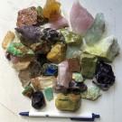 Decorative rocks, mixed colours, 10 kg