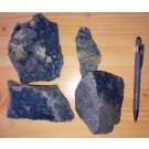 Vivianite with Quartzite, Silbergrube, Waidhaus, Hagendorf, Bayern, Germany, 1 kg