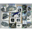 Aris, Windhoek, Namibia; small collection of well identified specimen; 1 lot of 32 specimen