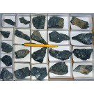Aris, Windhoek, Namibia; small collection of well identified specimen; 1 lot of 20 specimen, large flat