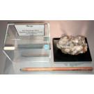 Barite xx; N' Chwaning Mine, Kalahari Manganese Field, Kuruman, RSA; NS
