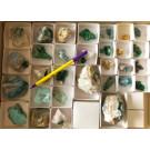 Mixed minerals, Steiner Mine, Kaokoveld, Namibia, 1 flat