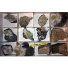 Prehnite + Pumpellyite xx, Tafelkop, Namibia, 1 flat