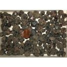 Grossular, Garnet, red, crystals, Tanzania, 278 g