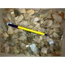 Moonstone (gemmy), gem grade, Tanzania, 100 g