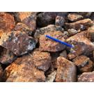 Andradite - Garnet (skarn with green amphibole), Namibia, 100 kg