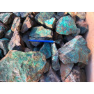 Chrysocolla with matrix, Rössingberge, Swakopmund, Namibia, 1 kg