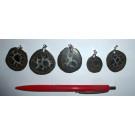 Septaria, pendant, 10 piece.