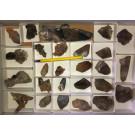Smoky Quartz crystals, Erongo, Namibia, 1 flat