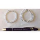 Wirst band for children, mountain quartz, 4 mm spheres, 1 piece