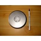 LED base, 15 LEDs, round, silver