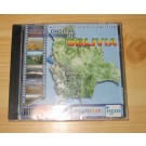 Bolivia CD-ROM detailed map