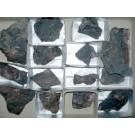 Piemontite - (Sr), Gambatesa Mine, Italy, 1 flat