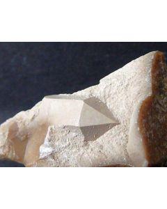 Quartz pseudomorph after Steatite xx; Grube Johanneszeche, Wundsiedel, Fichtelgebirge, Germany; 1 flat with 57 MM