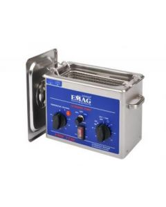 EMMI 012 HC ultrasonic cleaner in stainless steel (Made in Germany!)