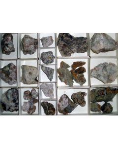 Bismuth - Cobalt ore, Fluorite xx Pöhla, Sa., Germany, 1 flat