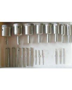 Diamond hollow drill, diameter 04 mm