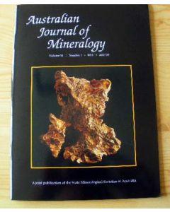 Australian Journal of Mineralogy Vol. 16, #1 2011
