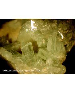 Paravauxite xx; Mina Siglo Veinte, Llallagua, Bolivia; HS