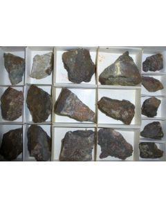 Berzeliite, Manganberzeliite, Massicotite etc. Langban, Sweden 1 flat
