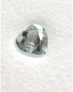 Aquamarine facetted 5 mm, Nigeria 10 pieces