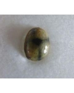 Chiastolite Cabochon 3-5 mm, Chile, 10 pieces