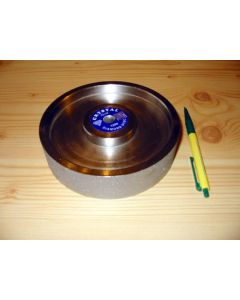 "Diamond-polishing-wheel, 1.5"" width, grain 8"" diameter, 0360"