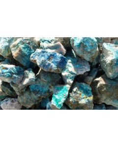 Dioptase, Shattuckite, Chrysocolla (1st choice); Kaokoveld, Namibia, 1 kg