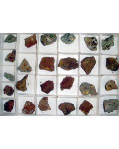 Arsenates, Mina Ojuela, Mapimi, Mexico, 1 microbag (micro bag)