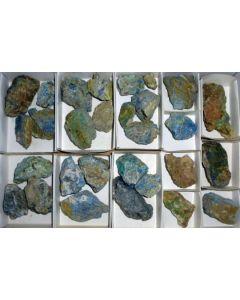 Cuproromeite, etc., Spain, 1 flat