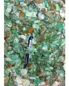 Chrysoprase with Pimelite, larger pieces, Szklary, Niederschlesien, Poland, 1 kg