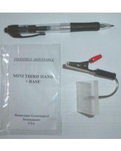 """Hanneman """"third hand"""" stoneholder"""