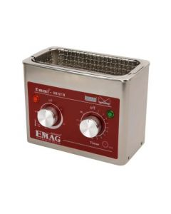EMMI 008 STH Ultrasonic cleaner in stainless steel (Made in Germany!)