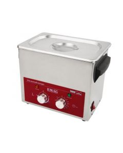 EMMI 022 H ultrasonic cleaner in stainless steel (Made in Germany!)