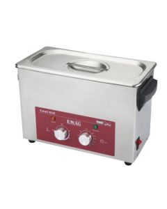 EMMI 040 H ultrasonic cleaner in stainless steel w/ fosset (Made in Germany!)