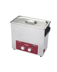 EMMI 060 H ultrasonic cleaner in stainless steel w/ fosset (Made in Germany!)