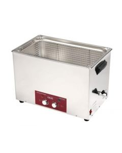 EMMI 280 H ultrasonic cleaner in stainless steel w/ fosset (Made in Germany!)