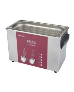EMMI 040 D ultrasonic cleaner with stainless steel tank, digital (Made in Germany!)