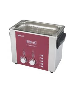 EMMI 030 D ultrasonic cleaner with stainless steel tank, digital (Made in Germany!)